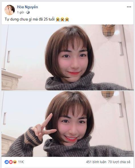 """hoa minzy gia vo """"muon chui xuong ho"""" khi cat toc bob ngan cun con va cai ket - 1"""