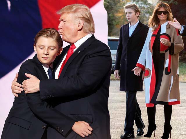 Cao 1m93, diện suit đẹp không thua gì tài tử Hollywood, cậu ấm nhà Trump khiến chị em rụng tim