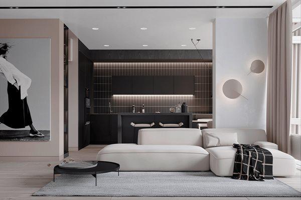 Tổng hợp mẫu nội thất phòng khách đẹp có thiết kế vạn người mê - 1