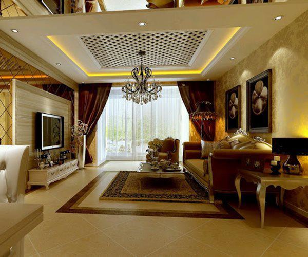Tổng hợp mẫu nội thất phòng khách đẹp có thiết kế vạn người mê - 11