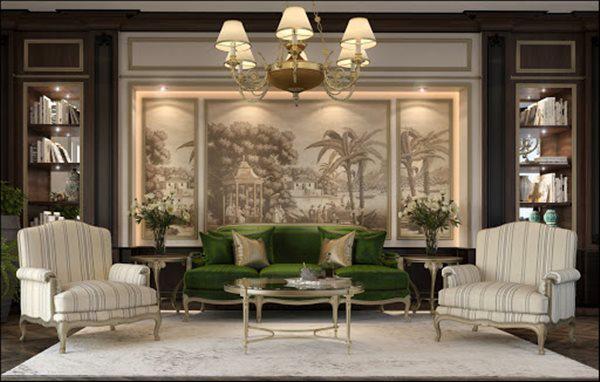 Tổng hợp mẫu nội thất phòng khách đẹp có thiết kế vạn người mê - 12