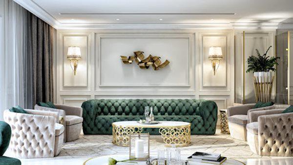Tổng hợp mẫu nội thất phòng khách đẹp có thiết kế vạn người mê - 13