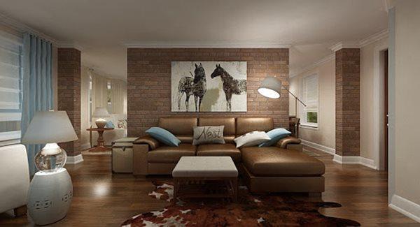 Tổng hợp mẫu nội thất phòng khách đẹp có thiết kế vạn người mê - 15