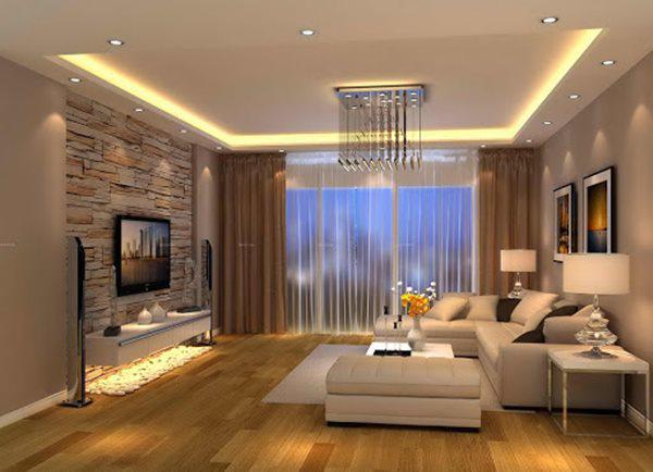 Tổng hợp mẫu nội thất phòng khách đẹp có thiết kế vạn người mê - 17