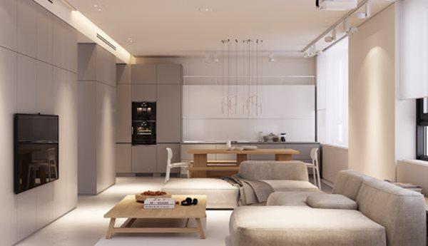 Tổng hợp mẫu nội thất phòng khách đẹp có thiết kế vạn người mê - 3