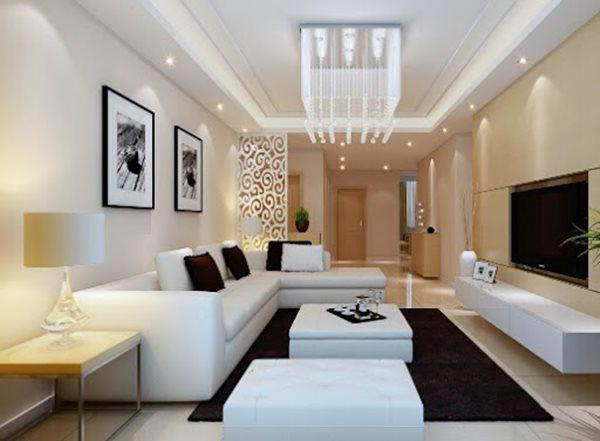 Tổng hợp mẫu nội thất phòng khách đẹp có thiết kế vạn người mê - 7
