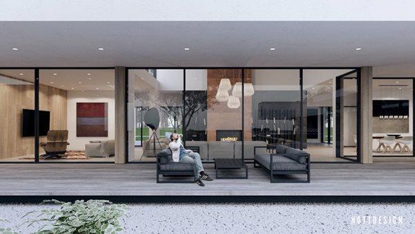 Xuýt xoa căn nhà hai tầng có thiết kế amp;#34;đẹp không tì vếtamp;#34; - 11