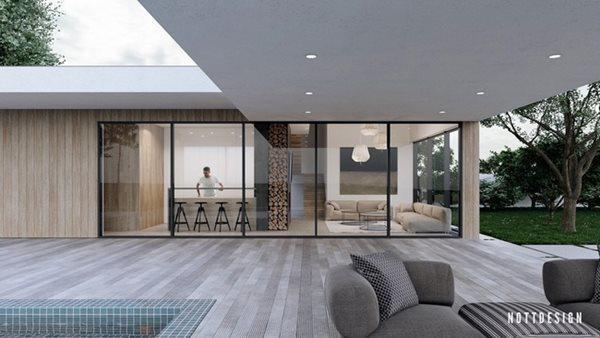 Xuýt xoa căn nhà hai tầng có thiết kế amp;#34;đẹp không tì vếtamp;#34; - 12
