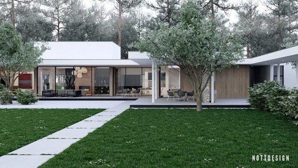 Xuýt xoa căn nhà hai tầng có thiết kế amp;#34;đẹp không tì vếtamp;#34; - 2