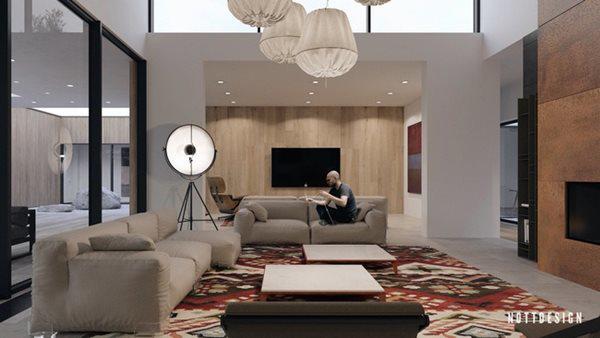 Xuýt xoa căn nhà hai tầng có thiết kế amp;#34;đẹp không tì vếtamp;#34; - 4