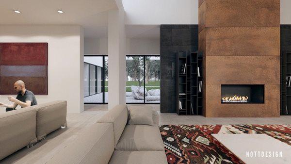 Xuýt xoa căn nhà hai tầng có thiết kế amp;#34;đẹp không tì vếtamp;#34; - 5