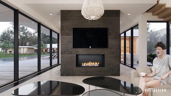 Xuýt xoa căn nhà hai tầng có thiết kế amp;#34;đẹp không tì vếtamp;#34; - 6
