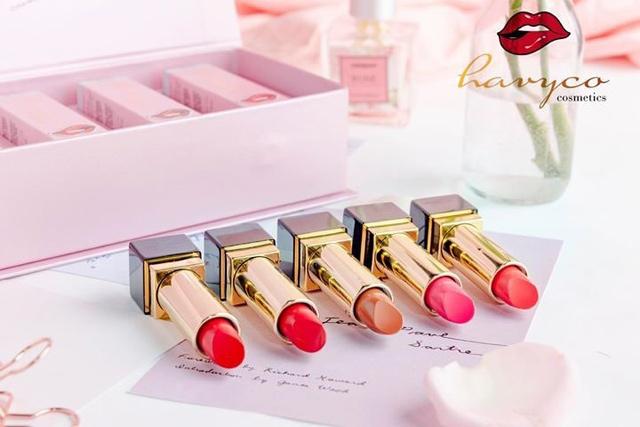 giai ma cay son huong giang idol su dung trong mv moi cua havyco lipstick - 3