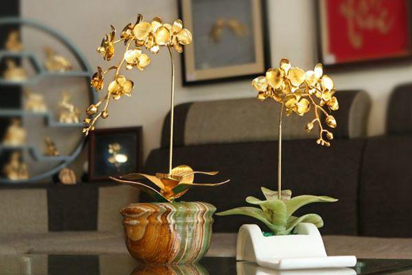 5 loai hoa dep bay phong khach khong som thi muon, kieu gi cung giau - 2
