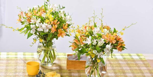 5 loai hoa dep bay phong khach khong som thi muon, kieu gi cung giau - 4