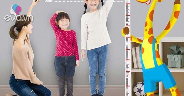 Bảng chiều cao cân nặng của trẻ em từ 0 - 10 tuổi chuẩn nhất