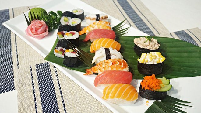 Học làm sushi cùng Đại sứ thiện chí Hoa Anh Đào - 1