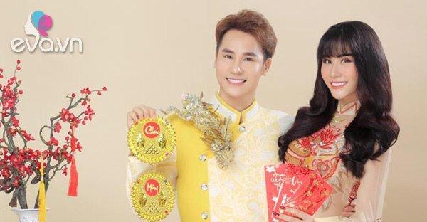 Ca sĩ Chu Bin xuất hiện tình tứ cùng Hoàng Hạnh trong MV đón xuân