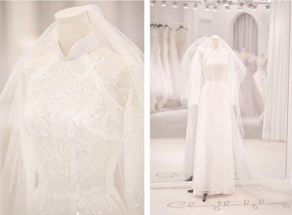 Váy cưới cổ tích của Đông Nhi, Bảo Thy… được kiến tạo bởi bàn tay tài hoa Chung Thanh Phong - 9