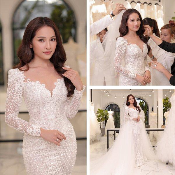 Váy cưới cổ tích của Đông Nhi, Bảo Thy… được kiến tạo bởi bàn tay tài hoa Chung Thanh Phong - 11