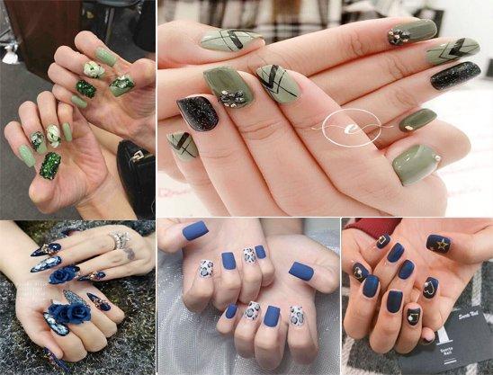 20 mẫu nail đẹp đơn giản nhẹ nhàng dẫn đầu xu hướng năm 2020 - 10