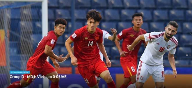 U23 Việt Nam nghẹt thở đấu UAE: Báo châu Á khen ngợi