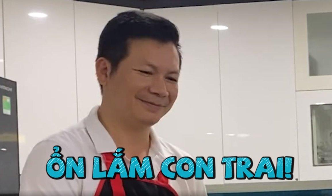 """shark hung day con trai goi banh chung, cu cau dang yeu """"gay sot"""" - 3"""