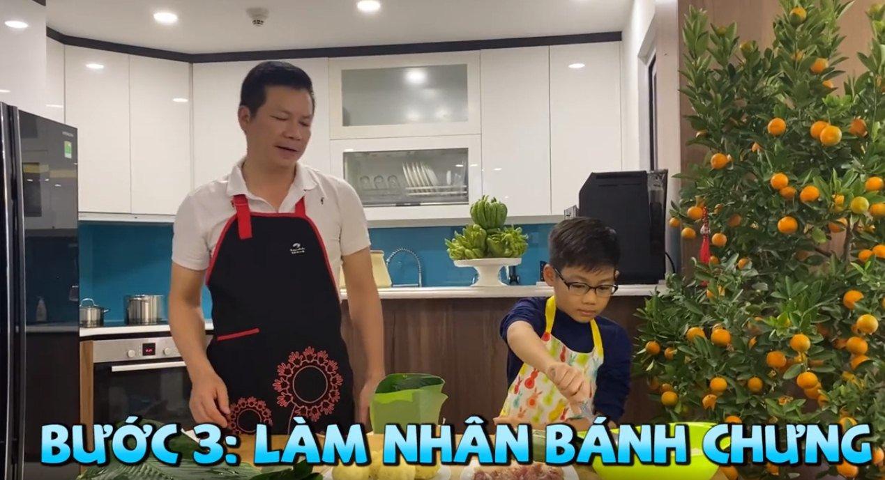 """shark hung day con trai goi banh chung, cu cau dang yeu """"gay sot"""" - 8"""