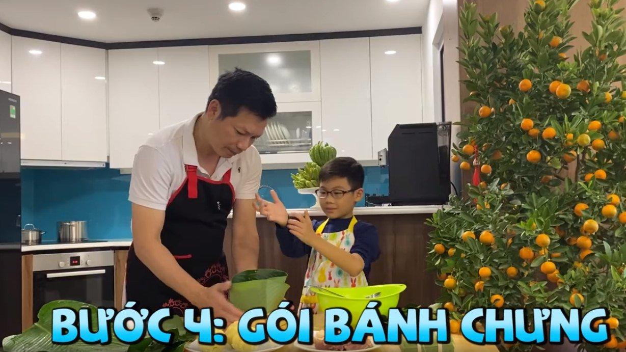 """shark hung day con trai goi banh chung, cu cau dang yeu """"gay sot"""" - 9"""