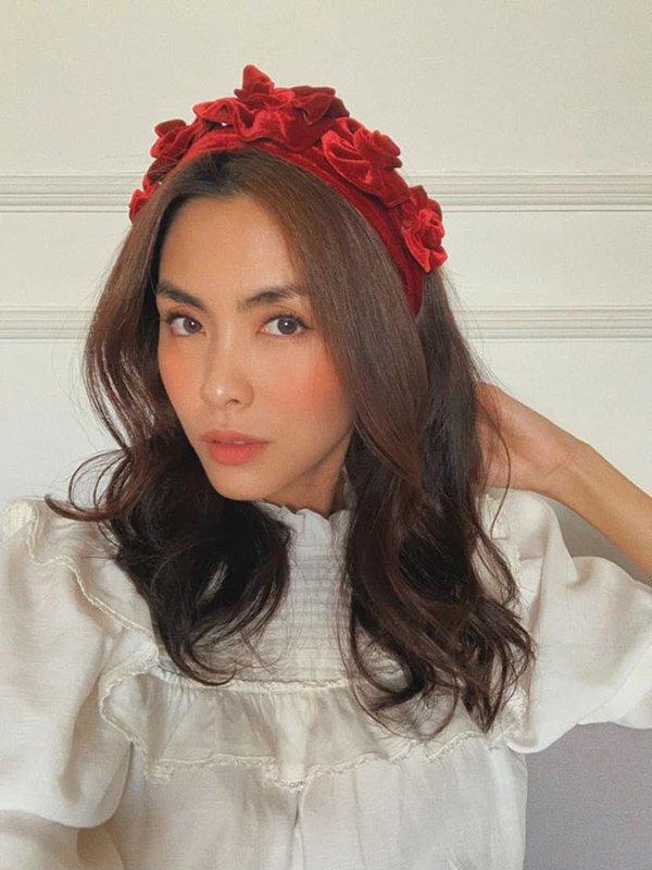 Diện mái tóc búi sang chảnh, Tăng Thanh Hà khiến fans mê mẩn bởi nhan sắc ngọc nữ tuổi 34 - 5