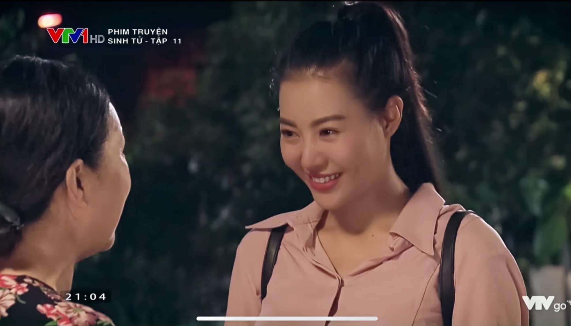 a hau len phim kin dao, ngoai doi khong ngo da 2 lan bau van cuc nong bong - 1