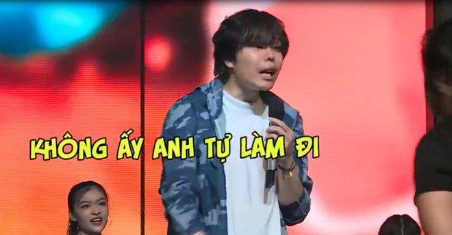 trinh thang binh tuc gian bo xuong san khau, a hau kieu loan khoc nuc no - 1