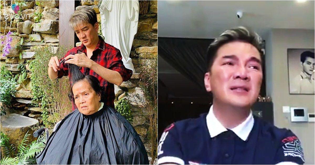 Sao Việt 24h: Từng khóc vì gánh nợ cho mẹ, giờ Đàm Vĩnh Hưng ân cần cắt tóc cho bà-Ngôi sao