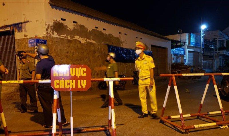 Hình ảnh cách ly nơi có nhiều bệnh nhân COVID-19 ở Bình Thuận