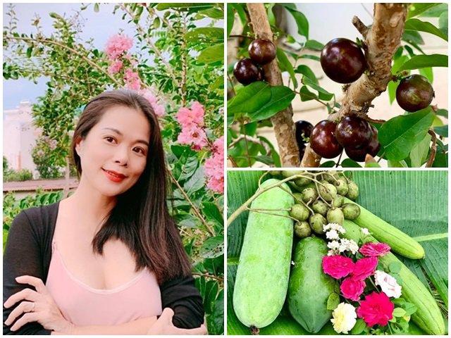 Về Việt Nam trồng toàn cây đắt giá, ca sĩ Mỹ Lệ thuê người làm không xuể việc trong vườn