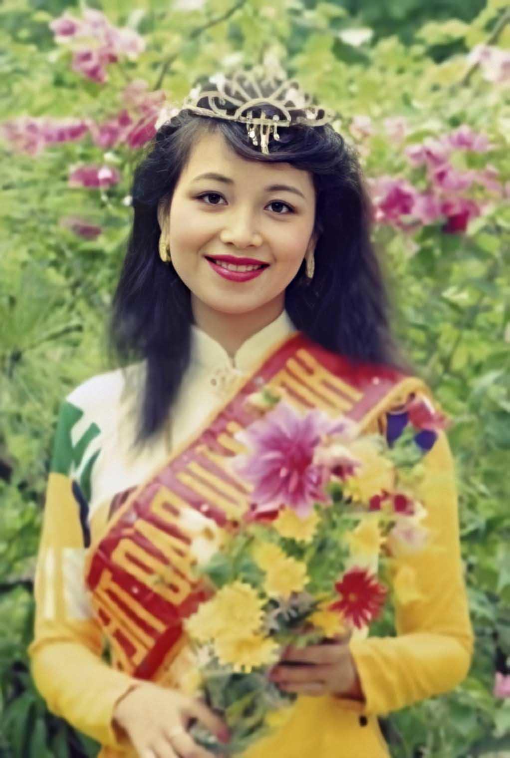 """hoa hau viet nam thuoc dong doi """"tram anh the phiet"""", lam dau an do """"suong nhu tien"""" - 4"""