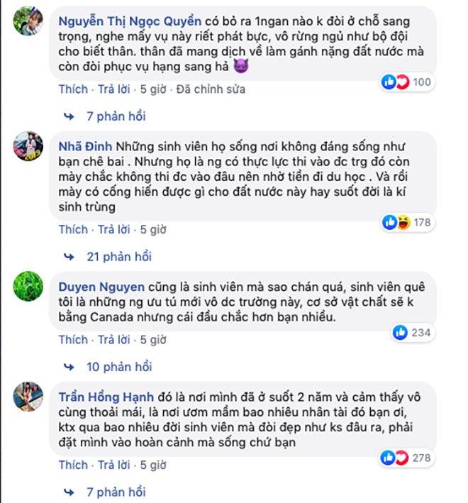 du hoc sinh che bai khu cach ly ktx dhqg tp.hcm ban thiu, khong the song noi vi o sach - 5