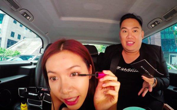kheo leo nhu hari won, bien xe hop thanh hair salon de lam toc di dien - 15