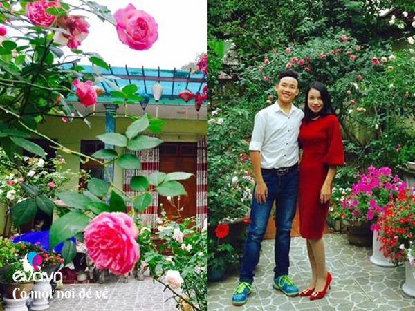 Cô giáo xứ Thanh cải tạo vườn trống, 4 năm sau có ngôi nhà hoa hồng đẹp như mơ - Ảnh 7.