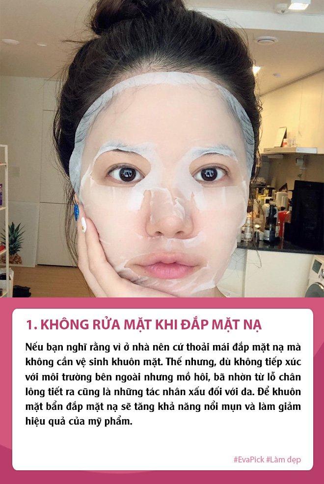 nghi dich dap mat na thuong xuyen da van sam, ban co chac minh khong mac phai 5 loi nay - 1