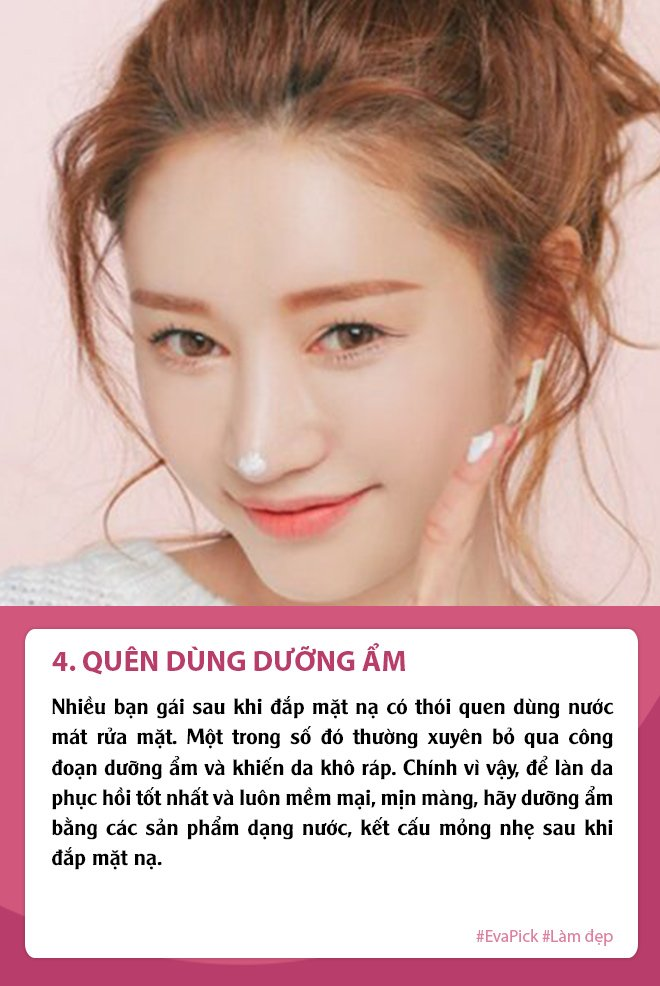 nghi dich dap mat na thuong xuyen da van sam, ban co chac minh khong mac phai 5 loi nay - 5
