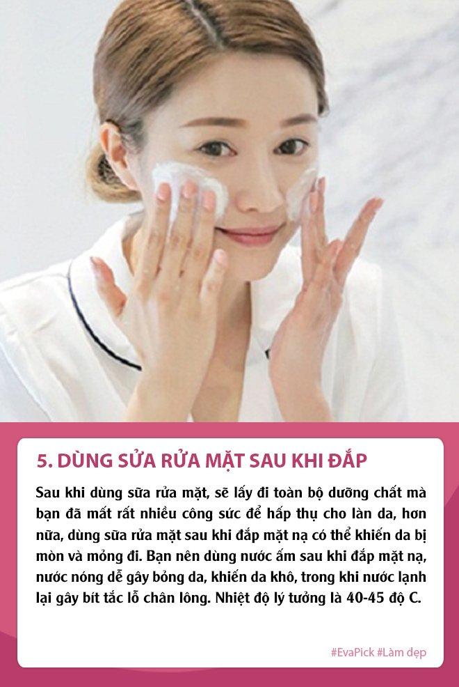 nghi dich dap mat na thuong xuyen da van sam, ban co chac minh khong mac phai 5 loi nay - 6