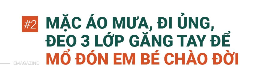 bac si mac ao mua, deo 3 lop gang tay mo don con cho nhung thai phu dac biet - 9