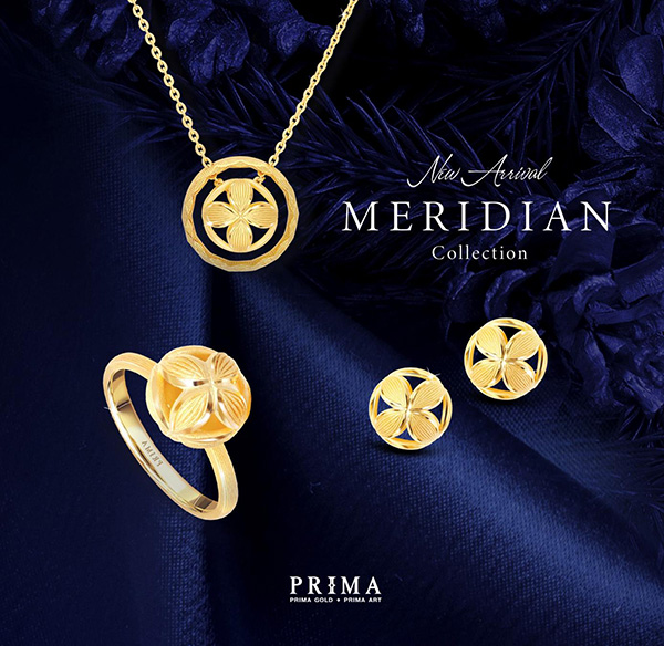 """Rước may mắn nhân dịp năm mới với trang sức """"cỏ bốn lá"""" Meridian - 1"""