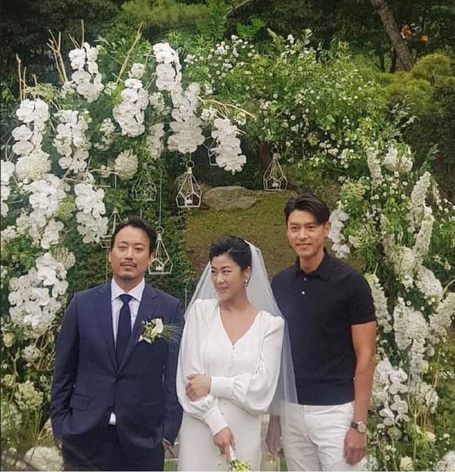 Hyun Bin đi ăn cưới: Lấn át cả cô dâu chú rể, fan tò mò ngày anh làm chú rể - 5
