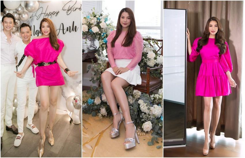 Style amp;#34;chặt chémamp;#34; đôi lúc lận đận, tình cũ Kim Lý U50 đổi váy công chúa đẹp như nữ thần - 9