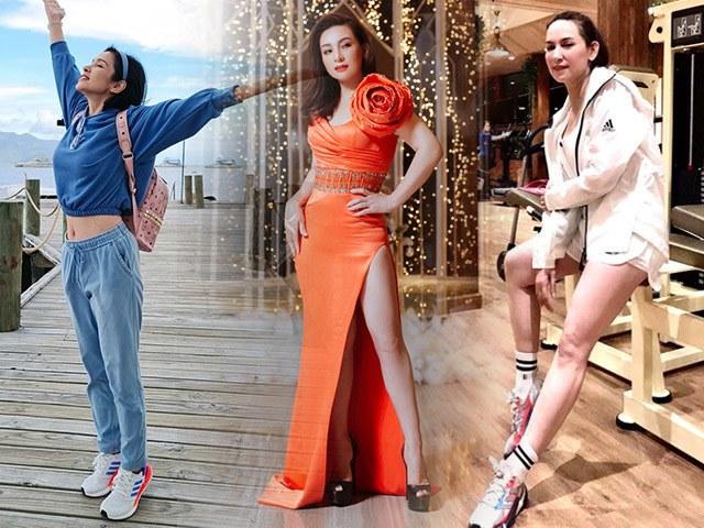 Khi đàn chị U50 kèn cựa phong cách với đàn em: Việt Trinh diện croptop, Phi Nhung mặc váy xẻ