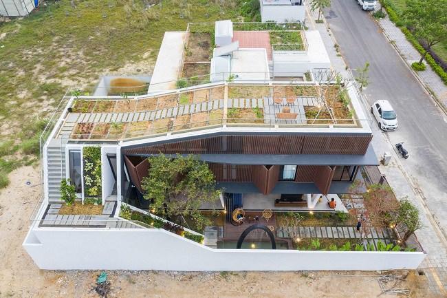 Căn nhà Việt có ngoại hình khúc khuỷu giúp gia chủ tiết kiệm 30% chi phí sinh hoạt - 5