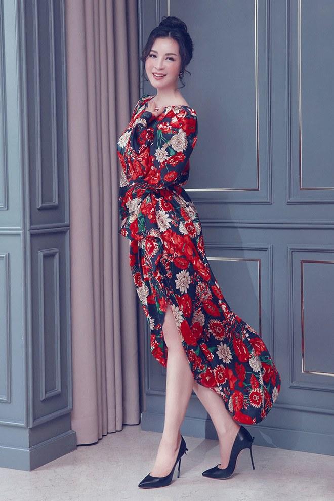 """Không còn kín đáo """"nuốt chân"""", Hồng Nhung diện xén bớt vải được khen đẹp ngang ngửa Hoa hậu - 12"""