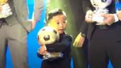 Em bé quyền lựclàm lu mờ nhân vật chính tại Quả bóng vàng 2020 xuất thân cực khủng